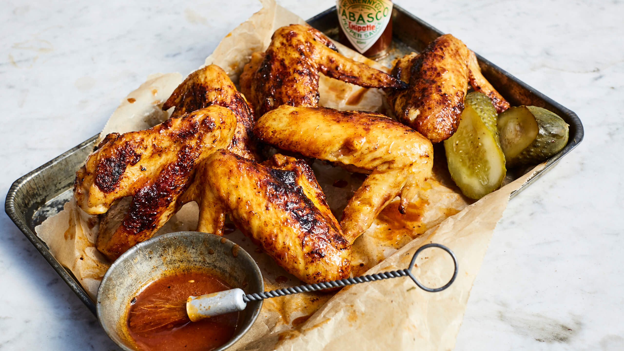 Smoked Chipotle Chicken Wings by Elizabeth Haigh