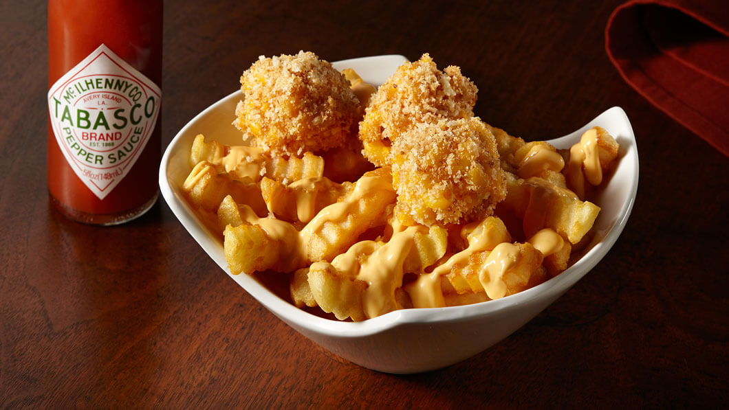 Mac-&-Cheese Football Fries