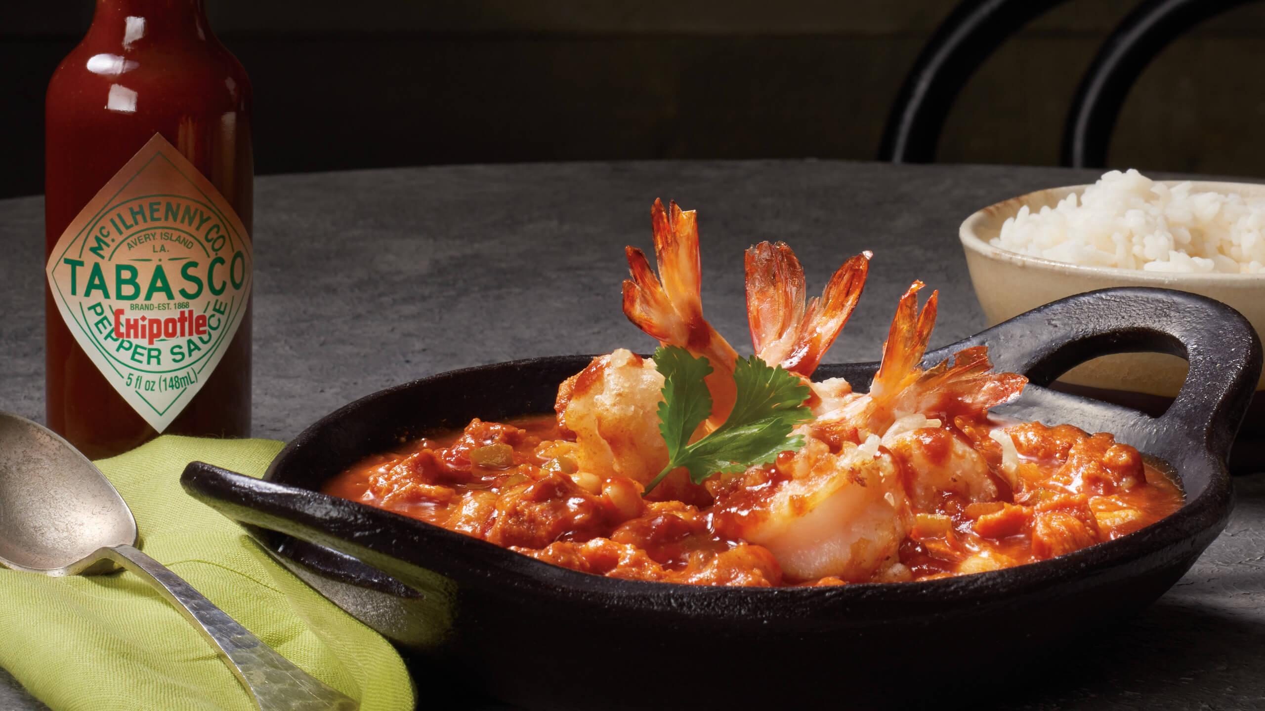 Alamo Crispy Shrimp & Chorizo Chili