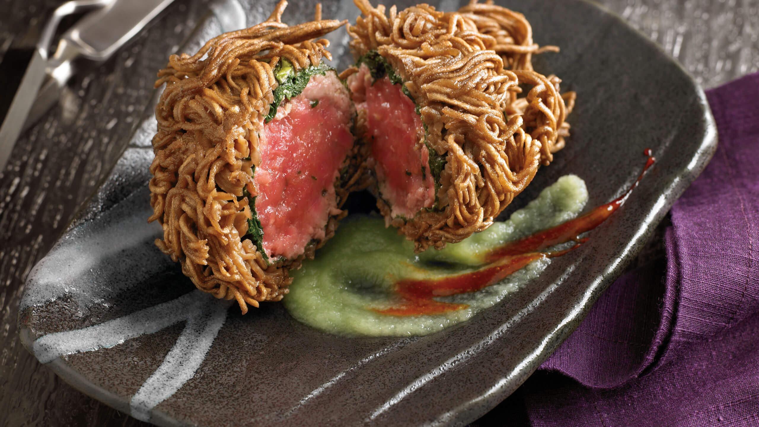 Crispy Buckwheat Tuna Tartare