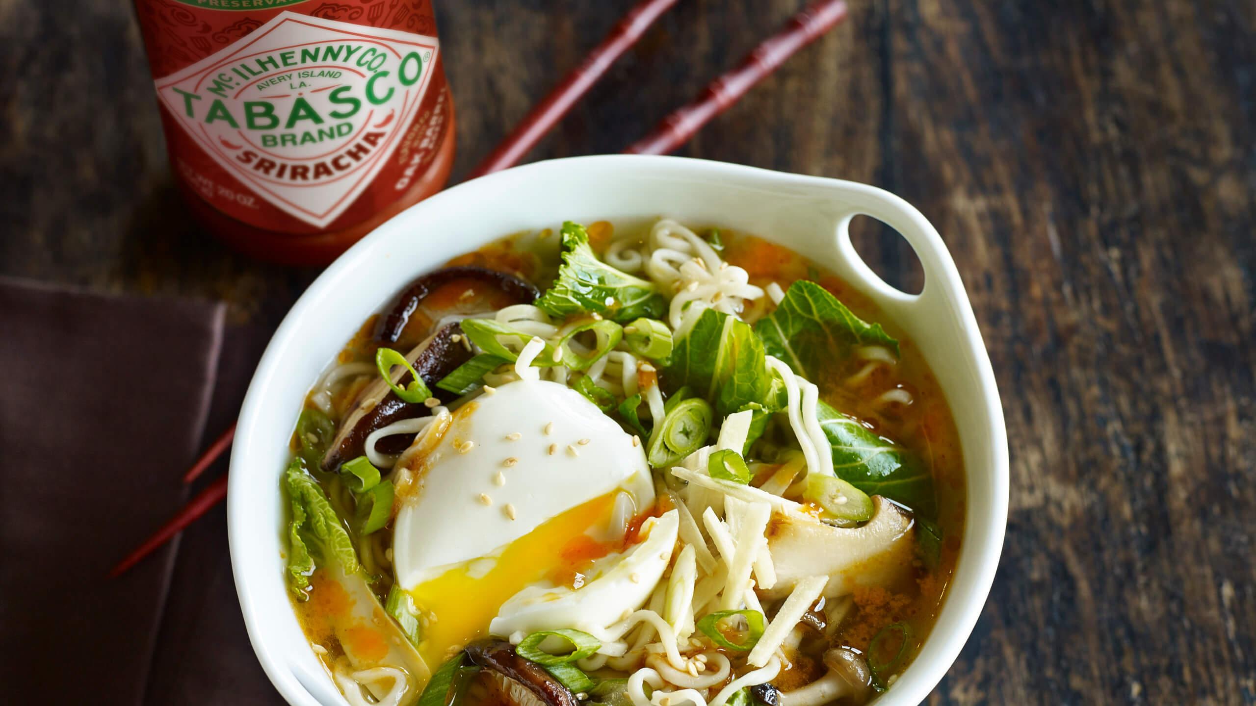 Sri-Ramen Noodle Bowl