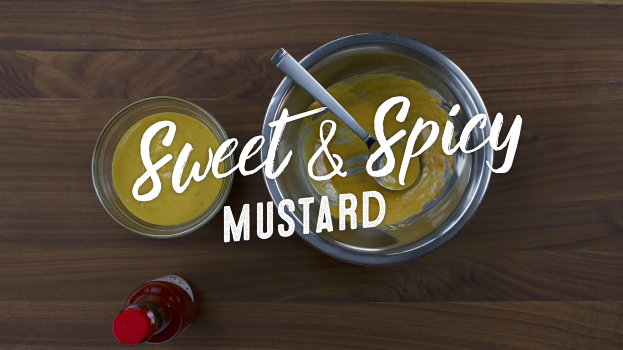 Sweet & Spicy Mustard Plus-One
