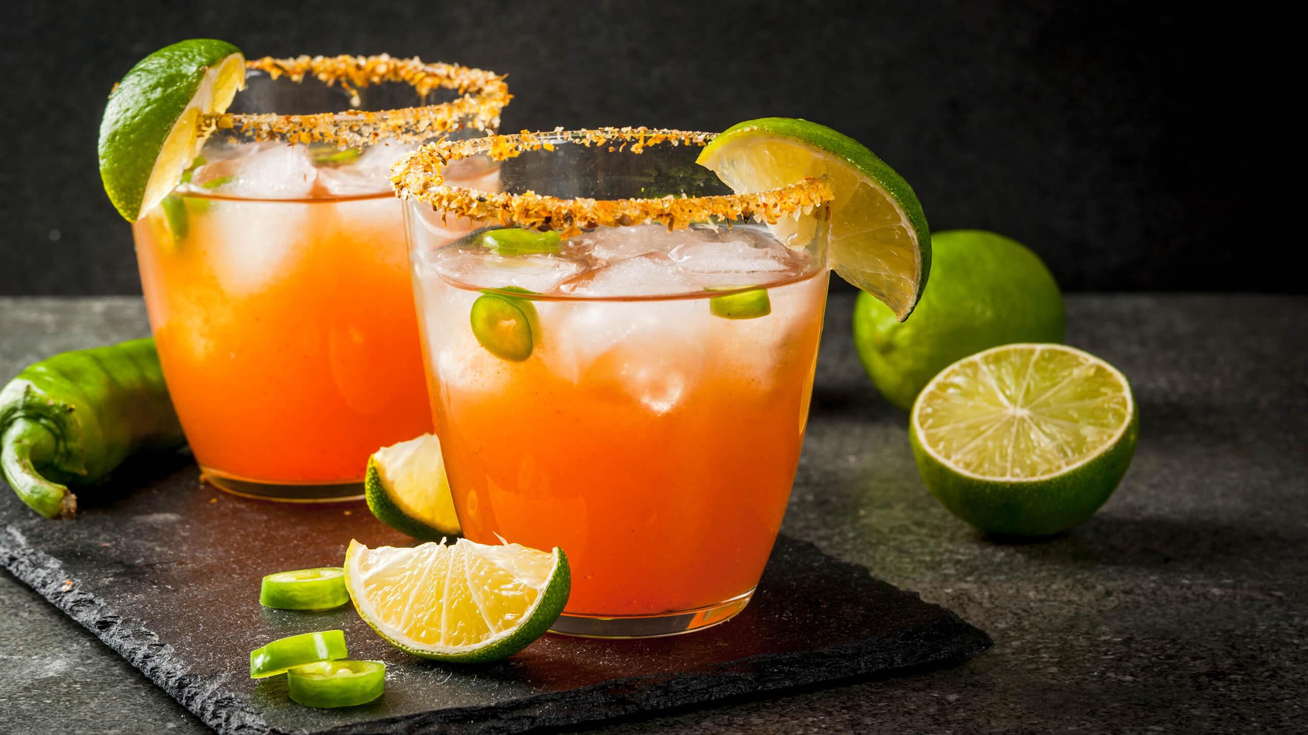 Sriracha Tequila Cocktail