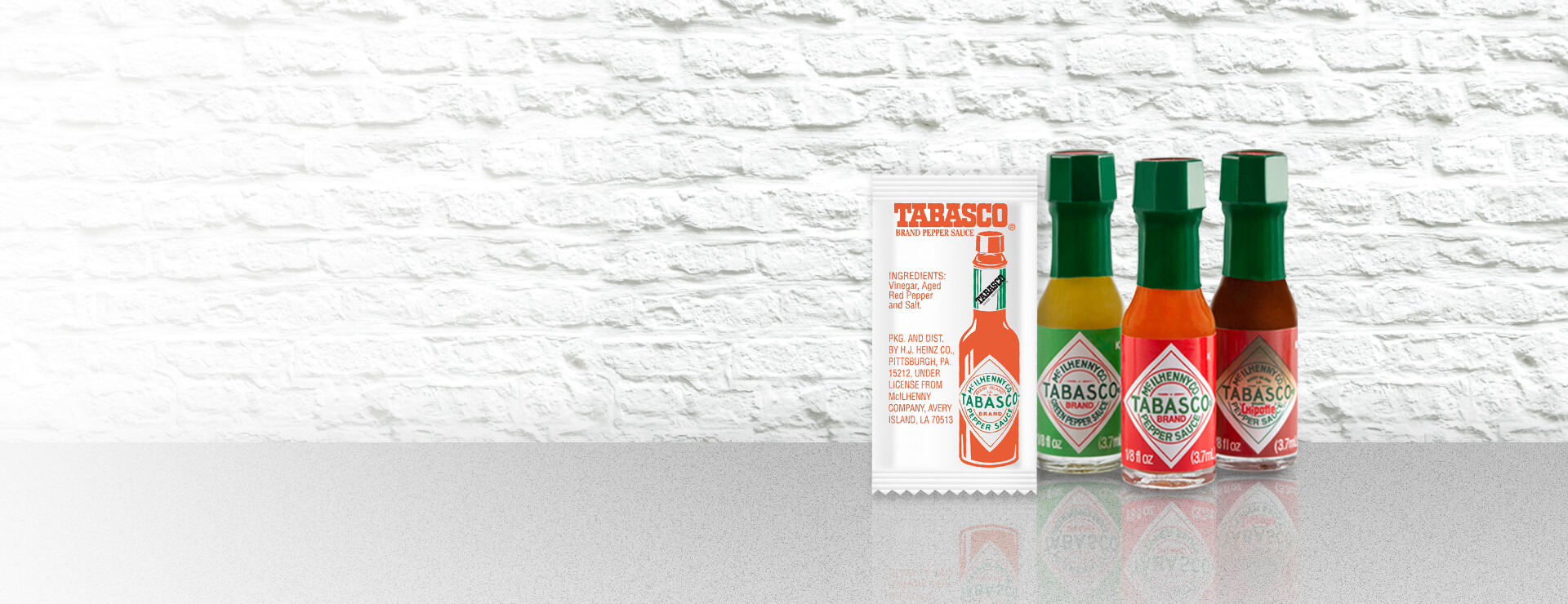 Tabasco Brand Portion Control Formats
