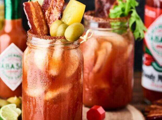 Classic Bloody Mary with TABASCO Bloody Mary Mix