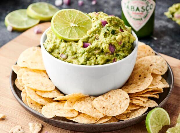 Spicy Green Guacamole